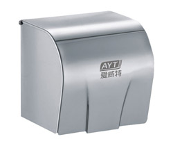 Stainless steel toile roll paper dispenser AYT-009L